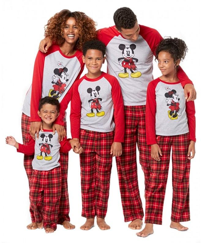 Mickey Minnie Mouse Christmas Sleepwear
