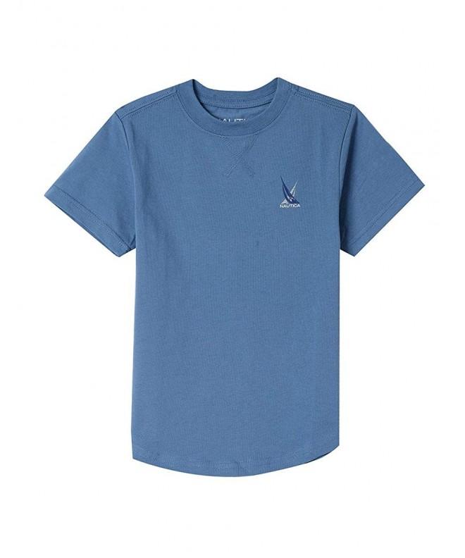 Nautica Short Sleeve Crew Neck T Shirt