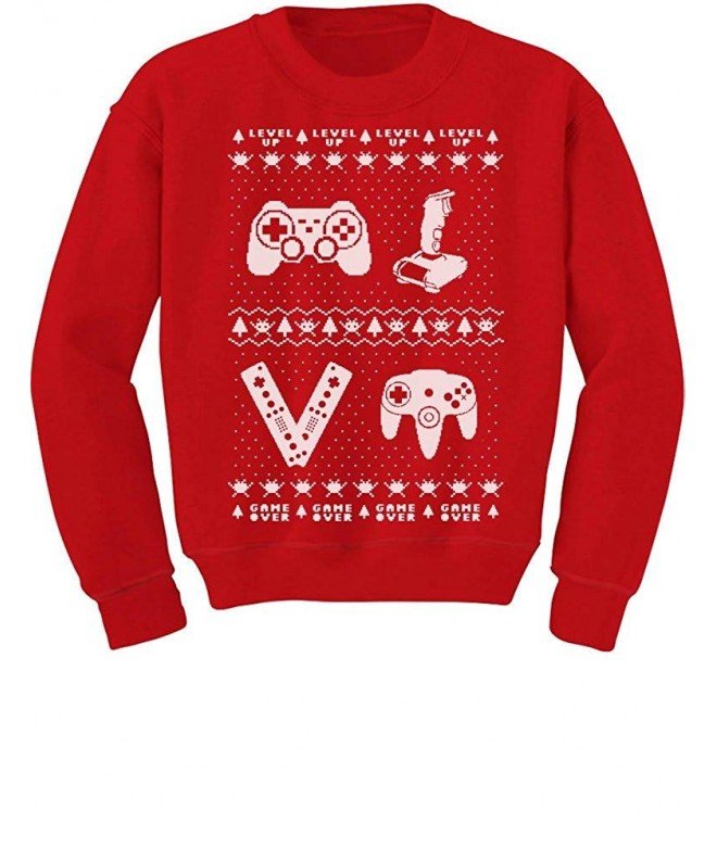 Tstars Gamer Christmas Sweater Sweatshirt