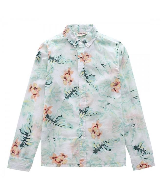 MOMOLAND Sleeve Poplin Button Floral