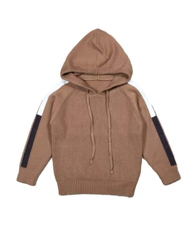 Lieto Rana Hooded Ribbed Sweater