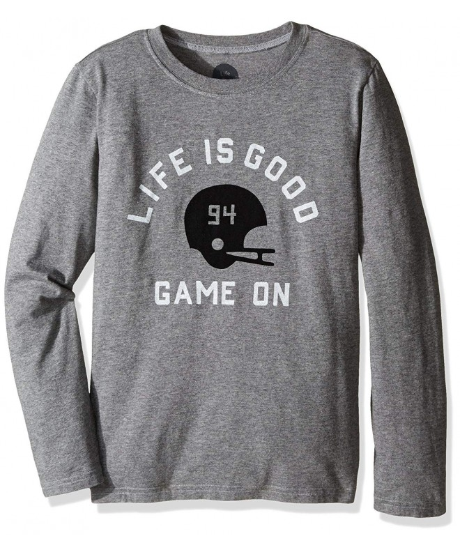 Life Good Longsleeve Helmet Heather