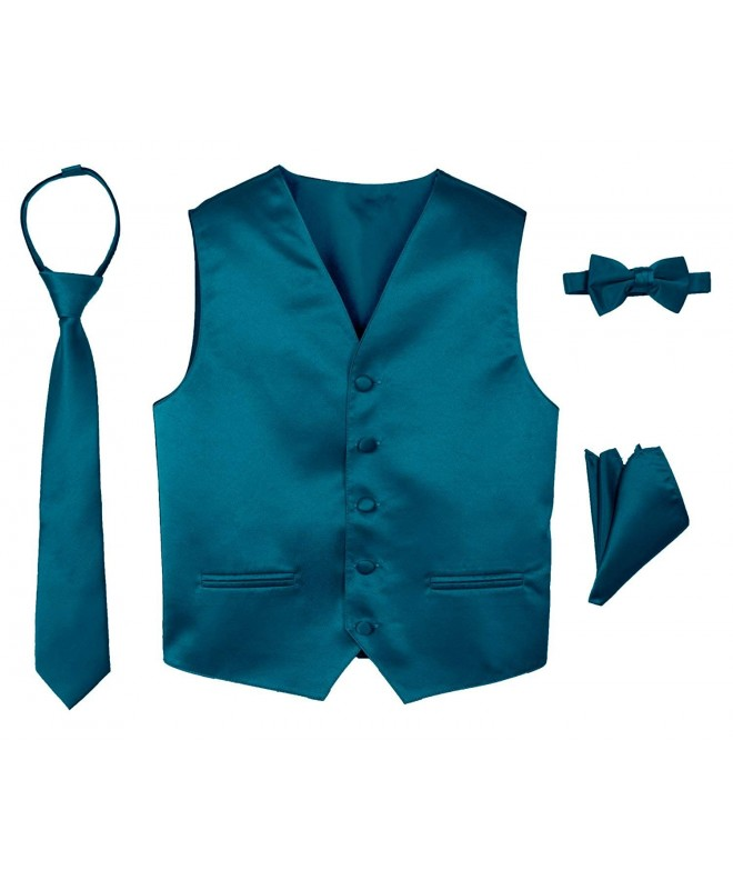 Spring Notion 4 Piece Satin Tuxedo