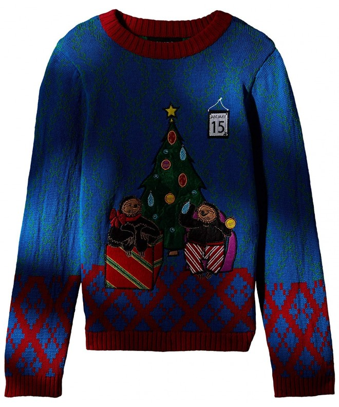 Blizzard Bay Tardy Sloths Sweater