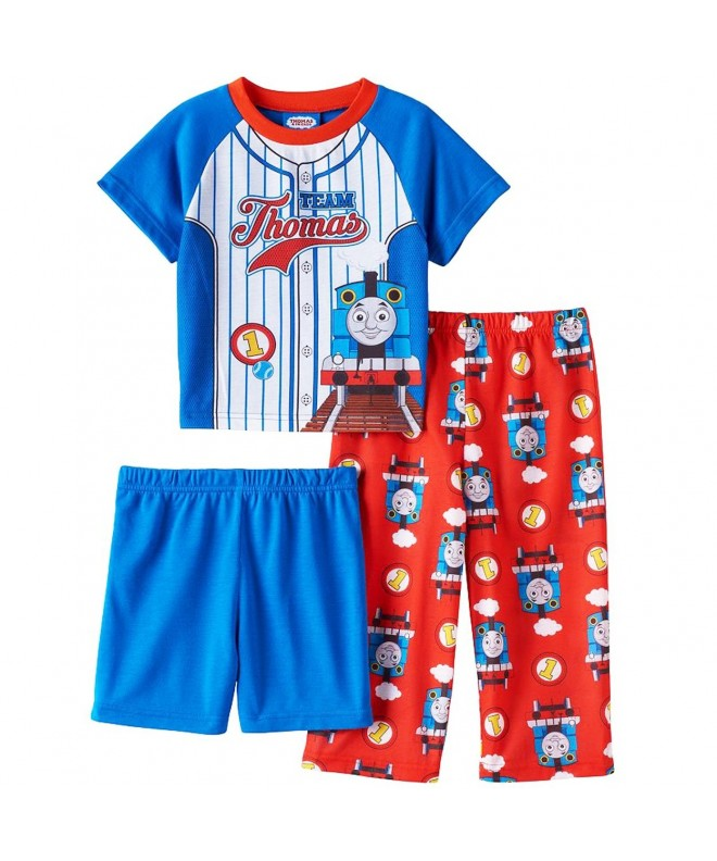 Thomas Prints Engines 3 Piece Pajama