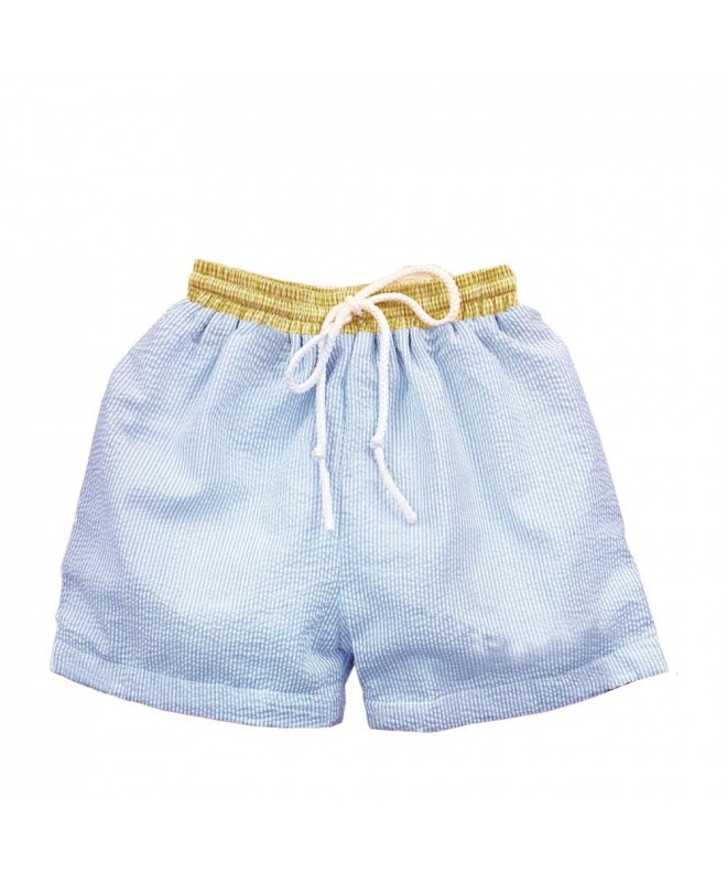 CFP Baby Boys Seersucker Trunks