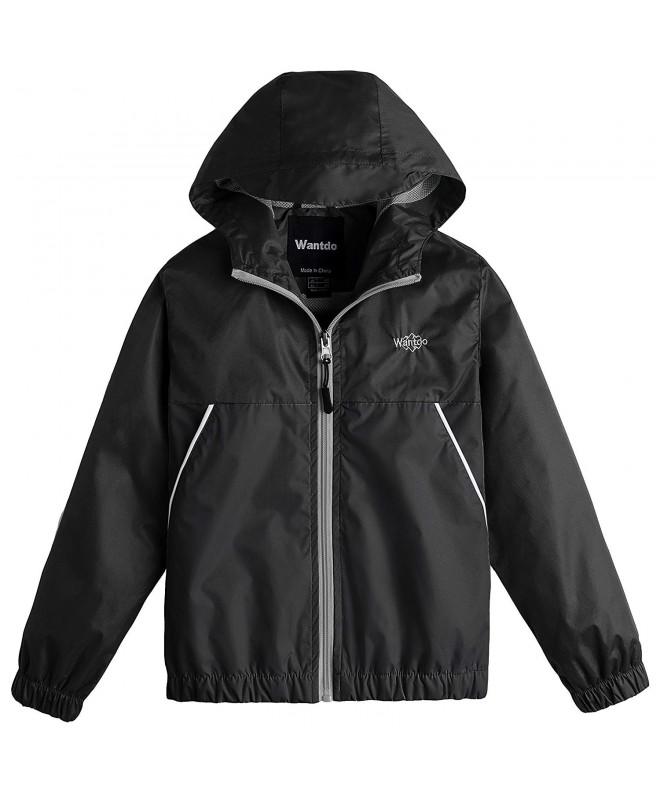 Wantdo Lightweight Windproof Raincoat Windbreaker