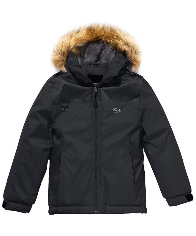 Wantdo Waterproof Jacket Rainwear Reflective