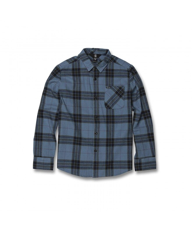 Volcom Caden Plaid Sleeve Shirt