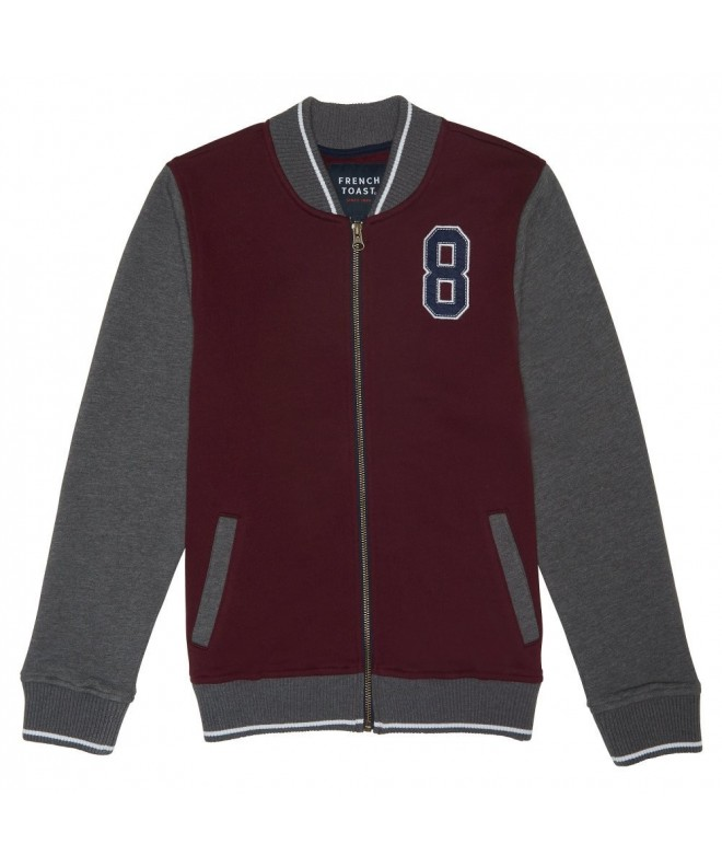 French Toast Fleece Varsity Jacket