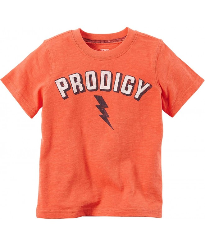 Carters Toddler Prodigy T Shirt Orange