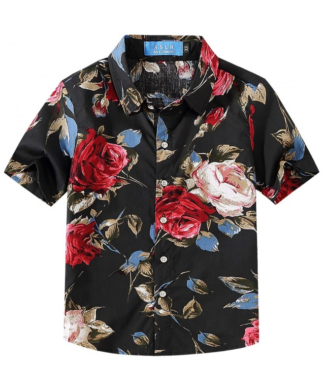 SSLR Casual Sleeve Floral Button