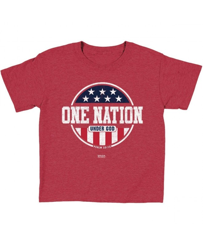 Kerusso Christian T Shirt Patriotic Nation