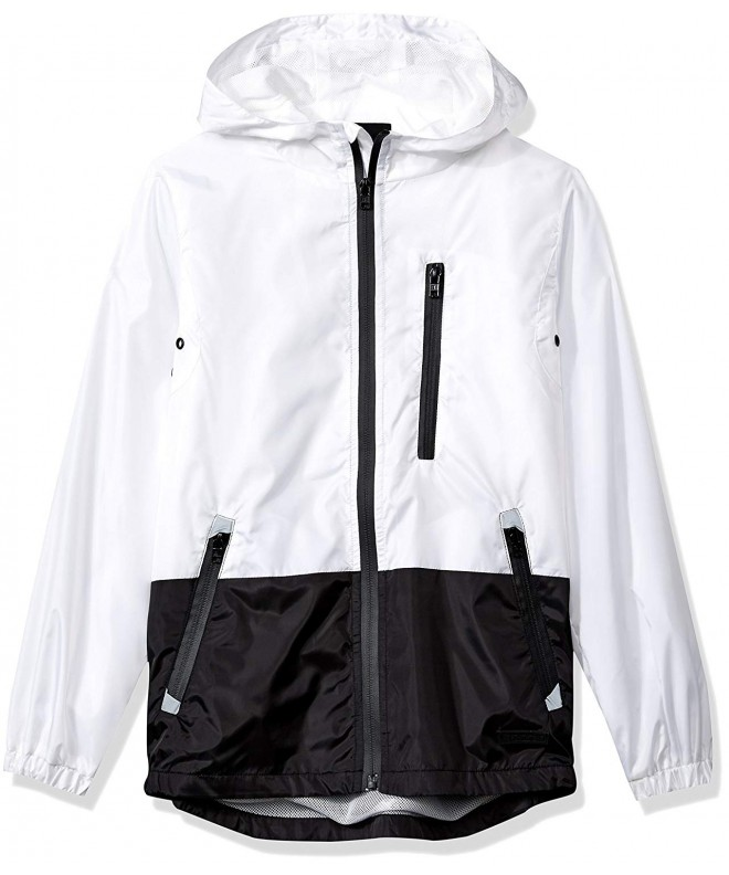 Southpole Colorblock Resistance Windbreaker Hooded