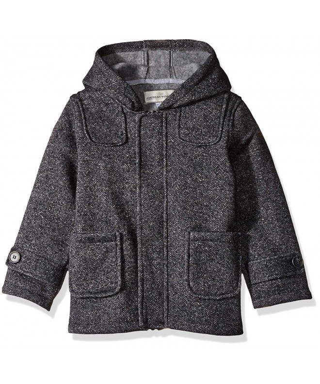 Widgeon Fleece Heather Tweedy Hooded