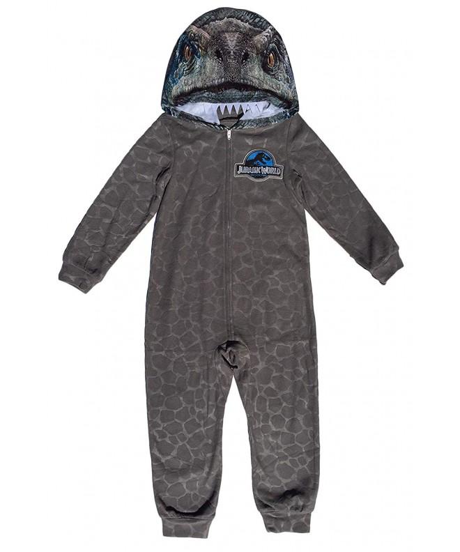 AME Sleepwear Jurassic Raptor Hooded
