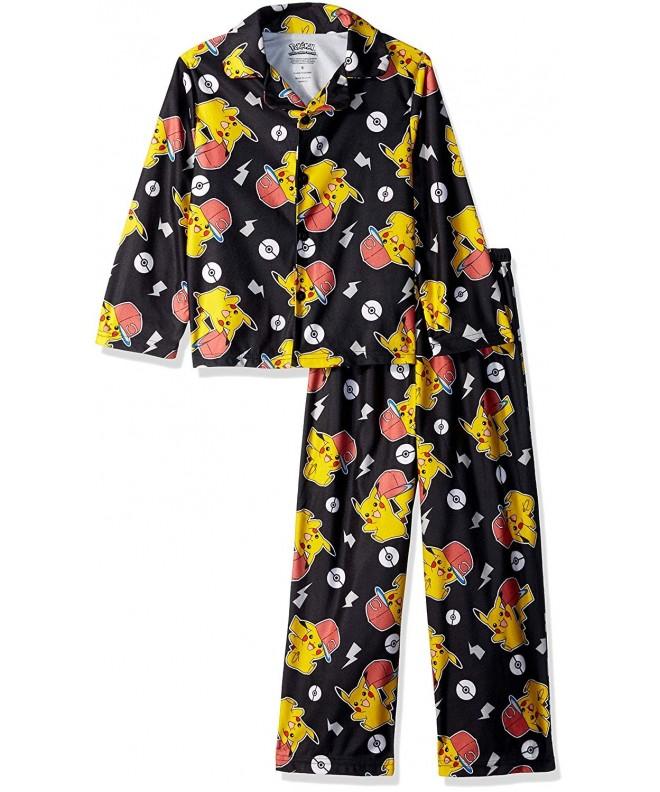 Pok mon Boys Pikachu 2 Piece Pajama