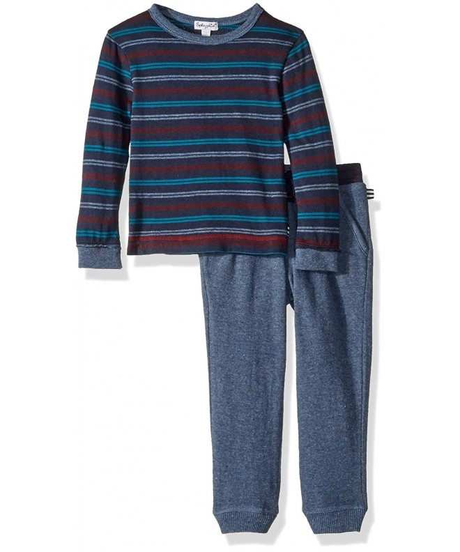 Splendid Boys Yarn Stripe Sleeve