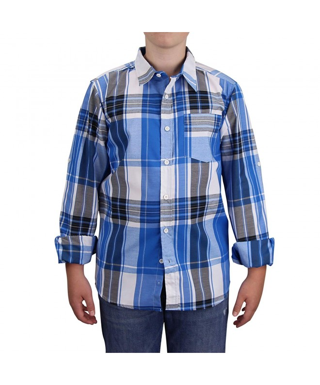 STREET RULES Plaid Button Down Sleeve