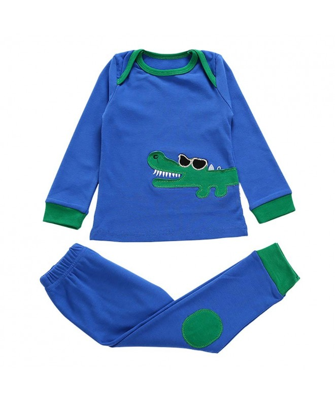 Pajamas Sleeve Toddler Clothes Cotton