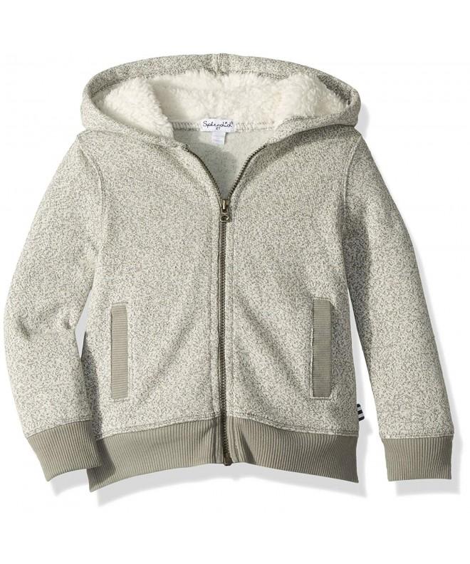 Splendid Marled Fleece Hoodie Jacket
