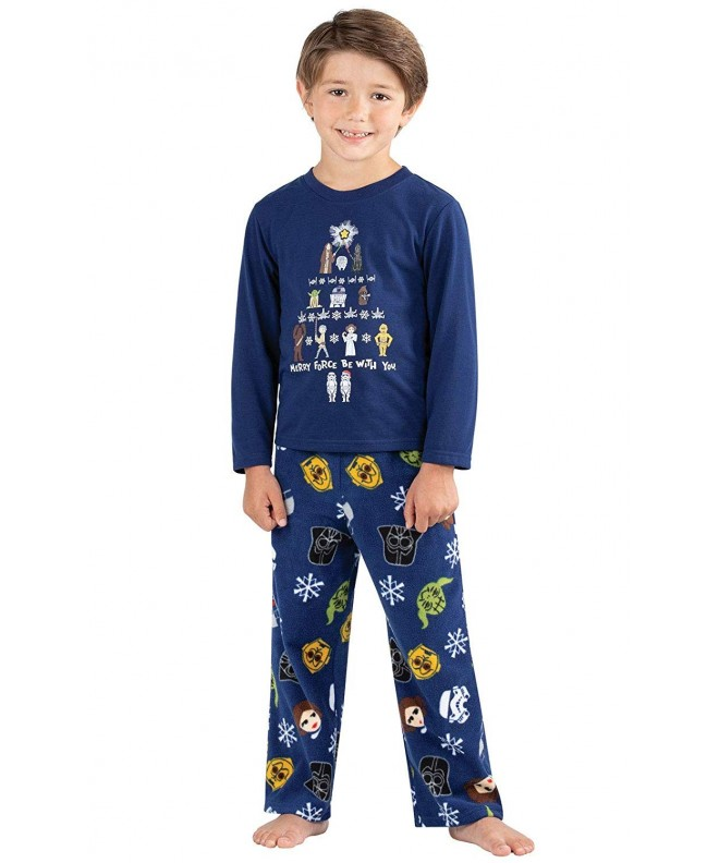 PajamaGram Big Boys Christmas Pajamas