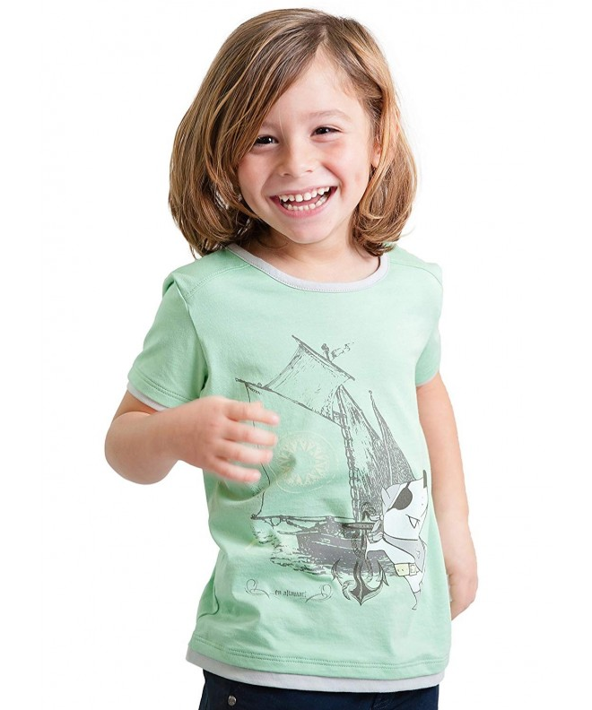 Dakomoda Toddler Cotton Graphic Nautical