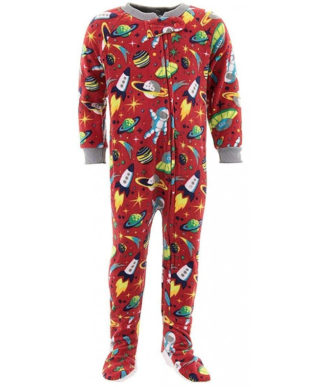 Mon Petit Space Footed Pajamas