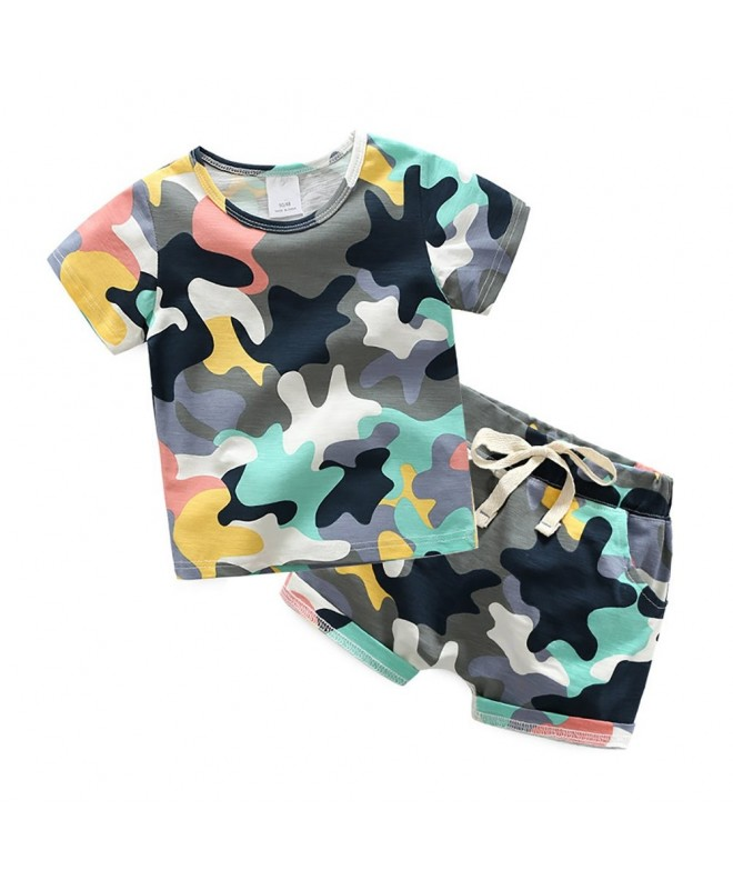 Motteecity Fashion Stylish Camouflage T Shirt
