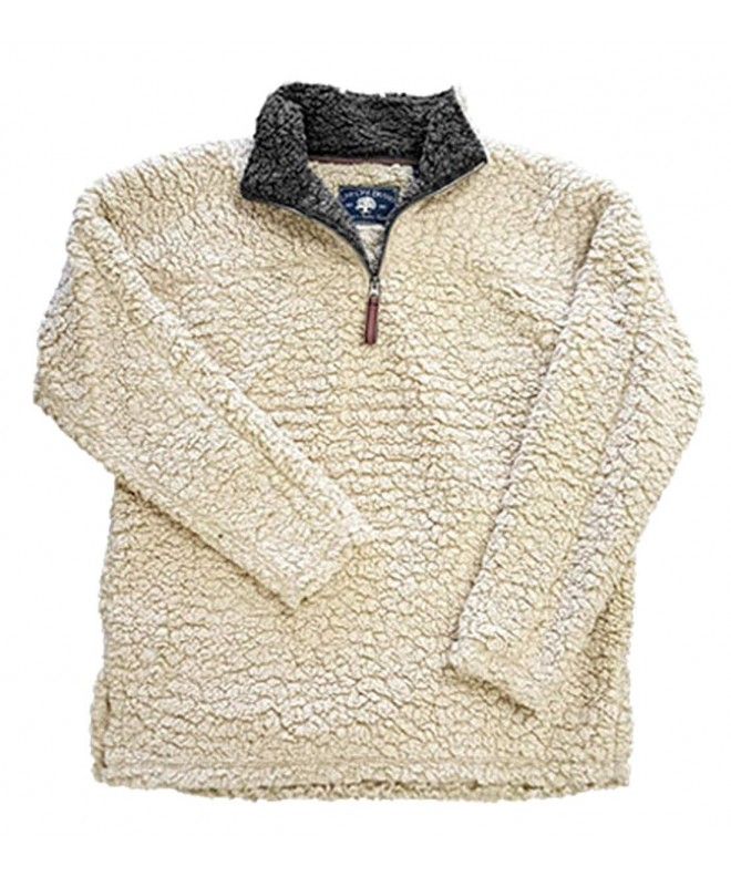 Live Oak Youth Fleece Pullover Oatmeal small
