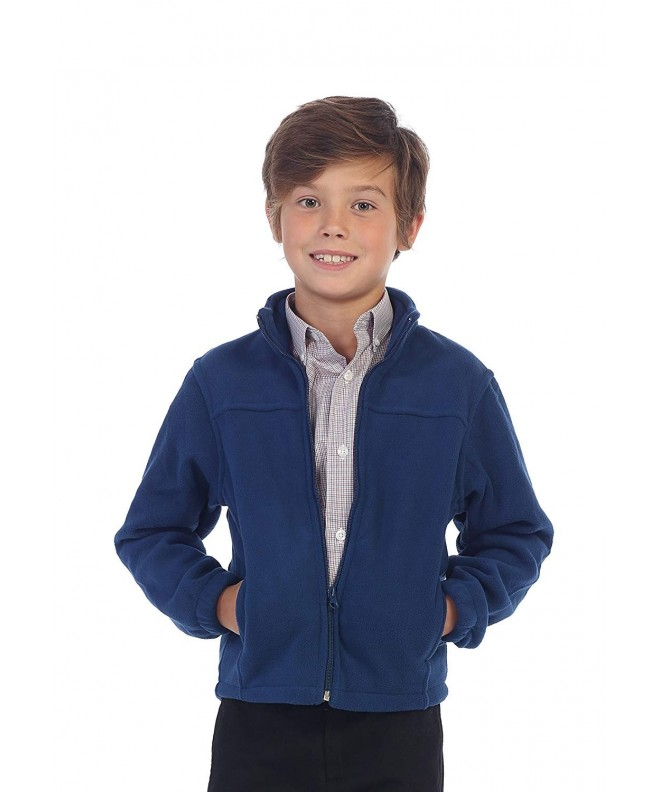 Gioberti Boys Polar Fleece Jacket