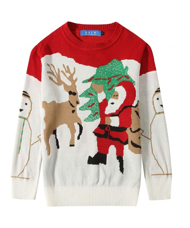 SSLR Santa Pullover Christmas Sweater