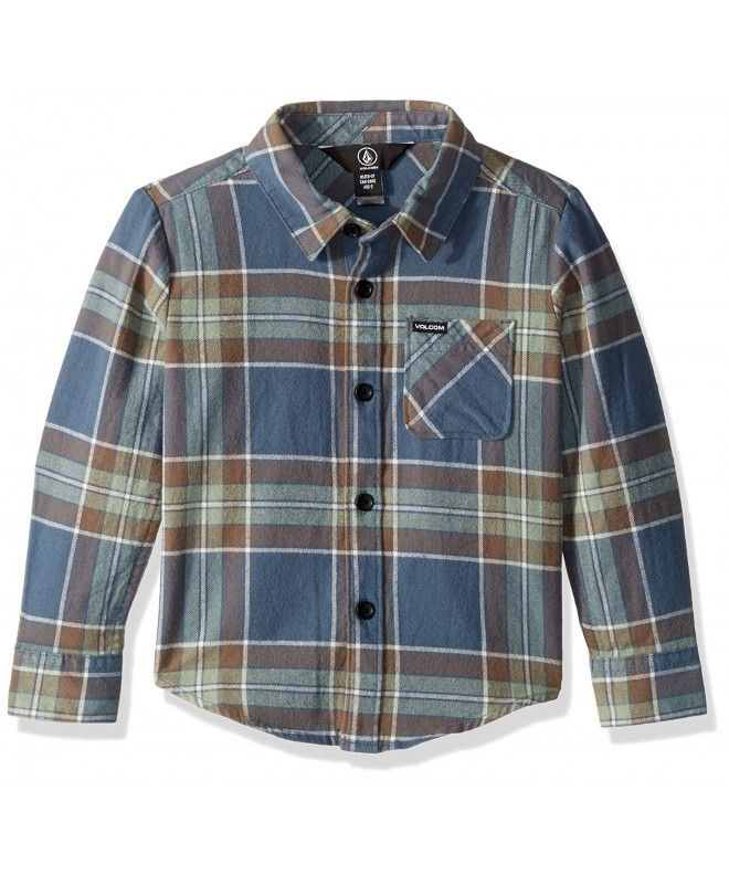 Volcom Little Caden Sleeve Flannel