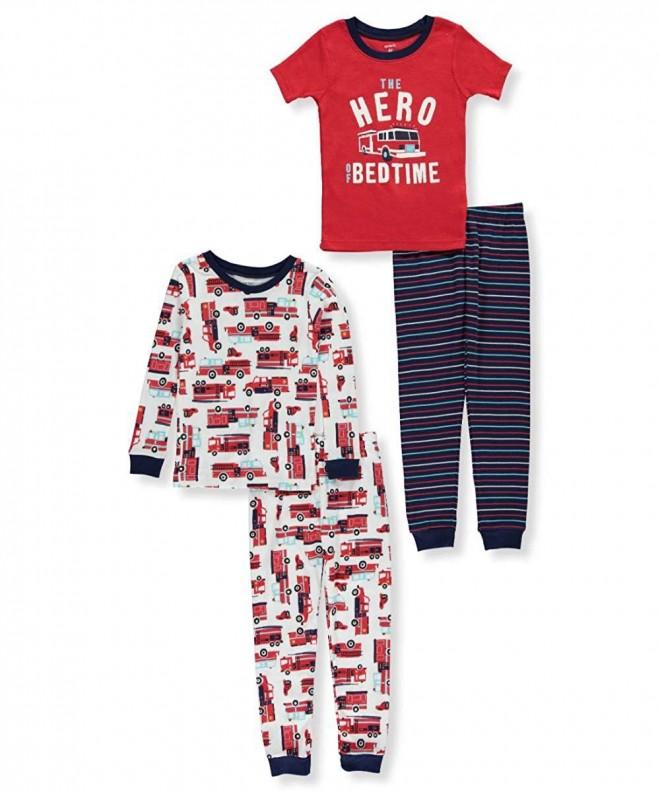 Carters 12M 10 4 Pc Firetruck Pajama