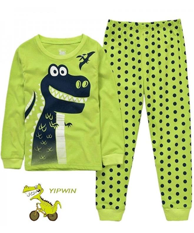 YIPWIN Dinosaur Sleepwear Chrildren Christmas