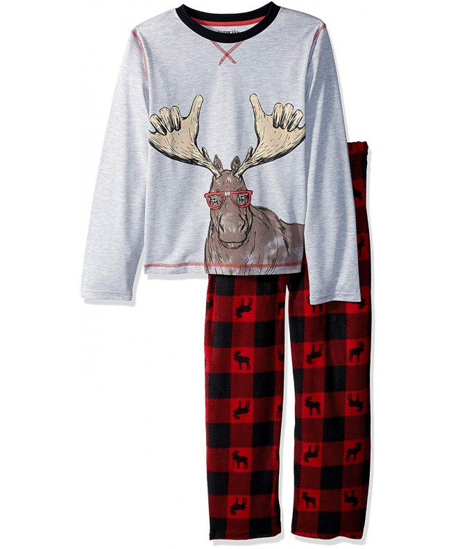 Komar Kids Moose Holiday Pajama
