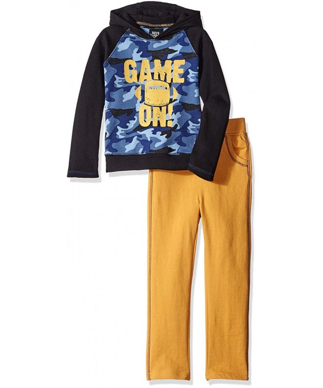Boys Rock Hoodie Set Game