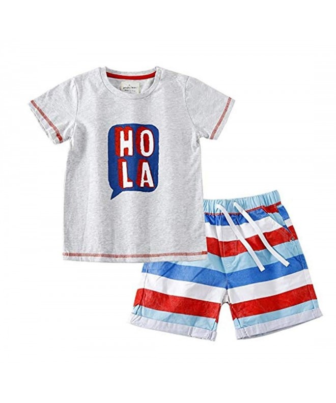 Jobakids Short Summer Print Clothing