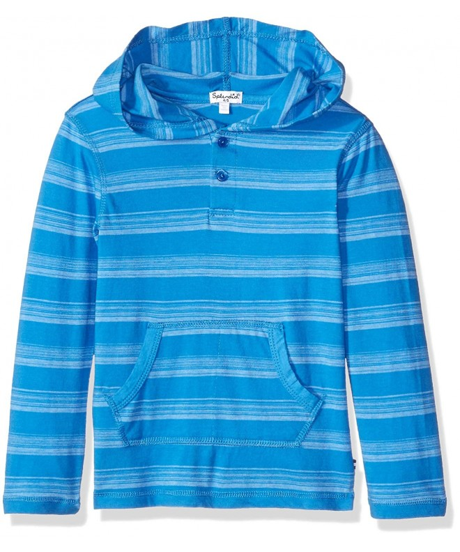 Splendid Sleeve Classic Stripe Hooded