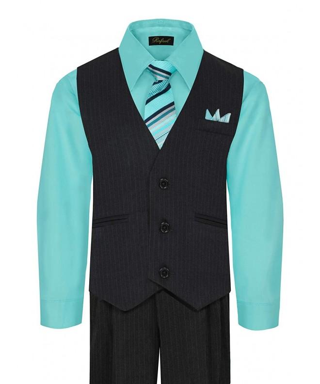 Boys Vest Pant Shirt Hanky