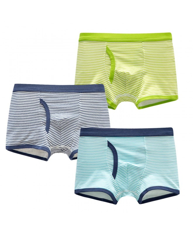 SIVICE Shorts Without Underwear Striped