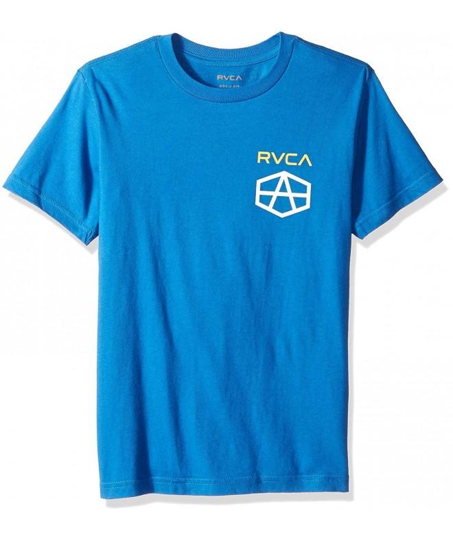 RVCA Boys Reynolds Short Sleeve