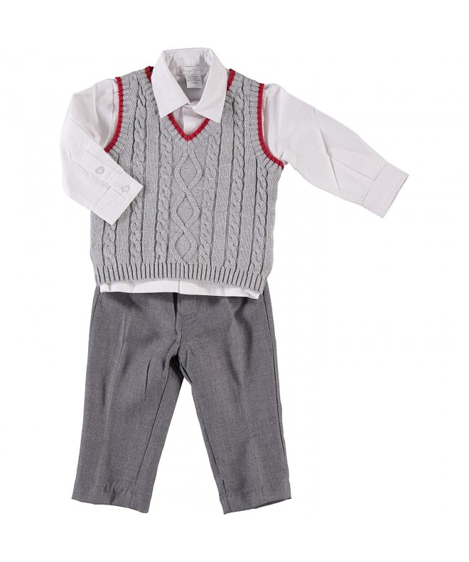 Boys Piece Elegant Vest Set