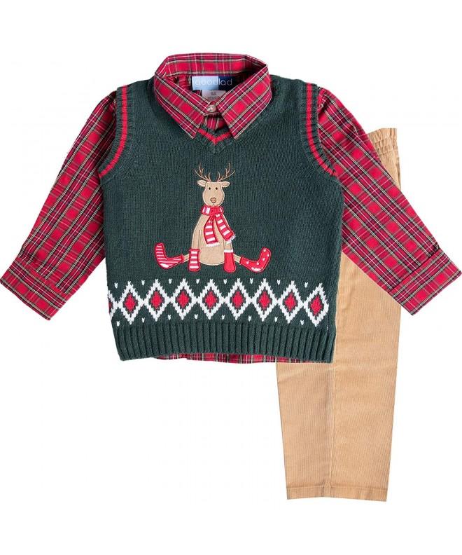Good Lad Toddler Reindeer Appliqued