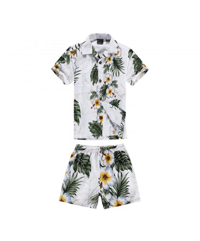 Hawaiian Aloha Shorts Cabana Floral