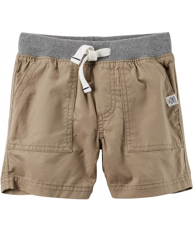 Carters Little Pull Twill Shorts