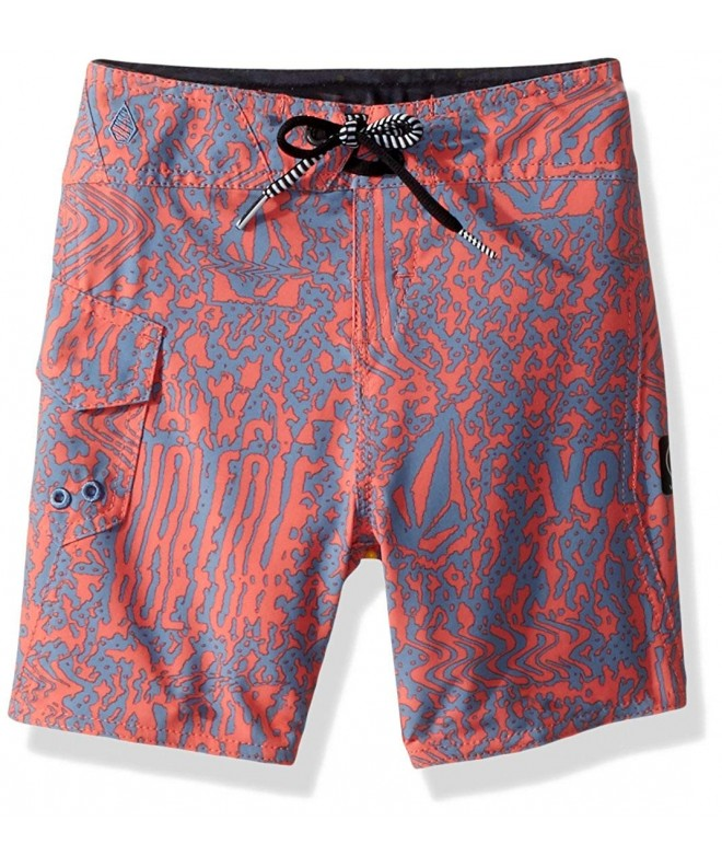 Volcom Boys Little Plasm Boardshort