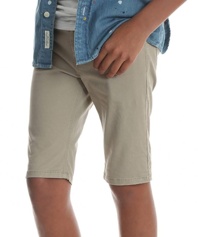 Wrangler Boys Khaki Shorts