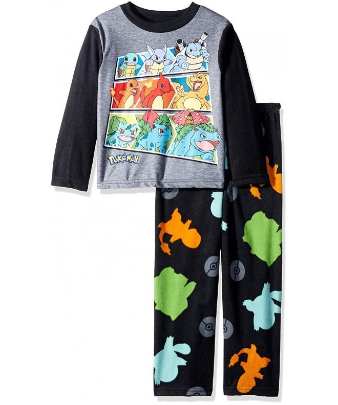 Pokemon Evolving 2 Piece Fleece Pajama