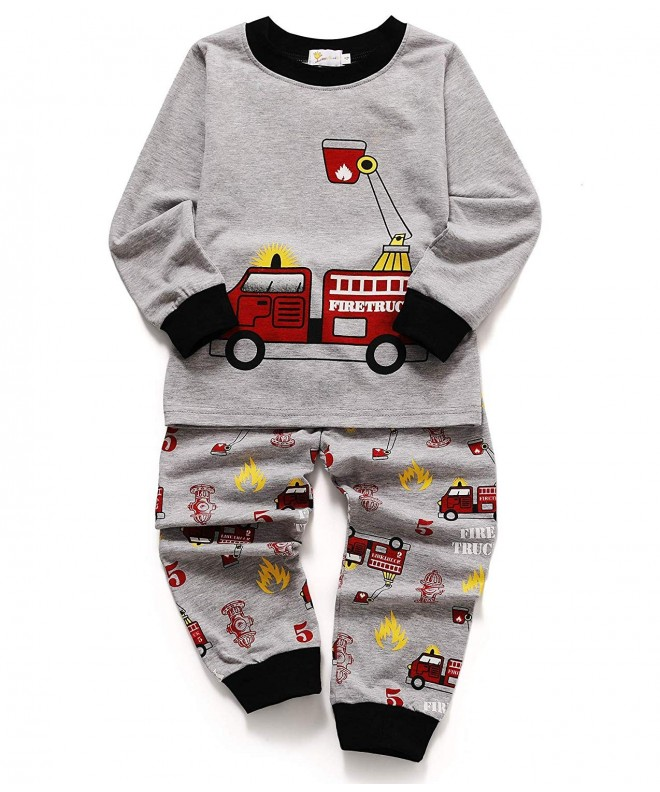 EULLA Toddler Dinosaur Cartoon Sleepwear
